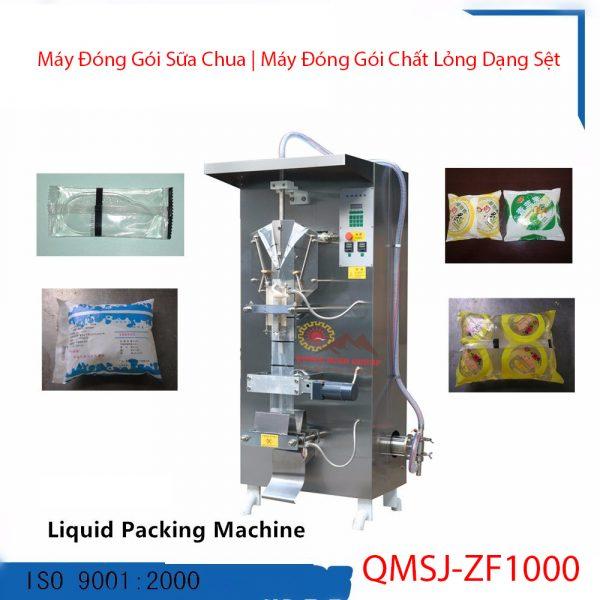 Máy đóng gói chất lỏng dạng sệt QMSJ-ZF1000