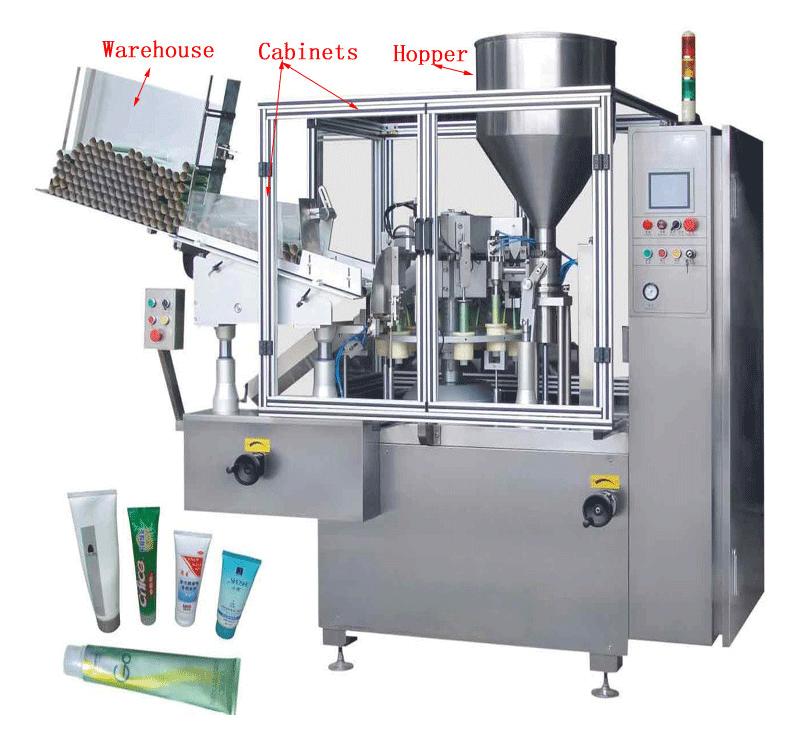 Máy sản xuất mỹ phẩm
