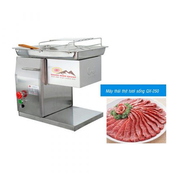 Máy-Thái-Thịt-Tươi-Sống-QM-QX-250