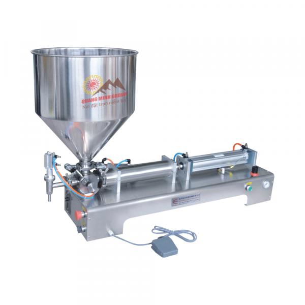 Máy chiết rót dịch sệt 1 vòi bán tự động QM-G1WGD100