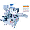 Máy-chiết-rót-và-siết-nắp-chai-Collagen-3-in-1-tự-động-QM-GCFC-Series