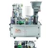 Máy-chiết-và-dán-ly-2-vòi-tự-động-(Màng-cuộn)-QM-XBG-900P