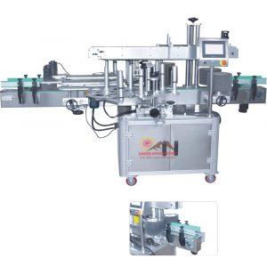 Máy dán nhãn chai 2 mặt hông tự động QM-ADLM-60