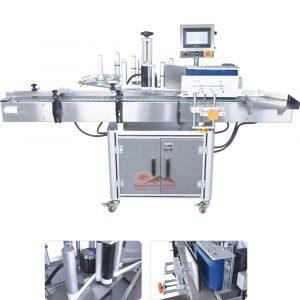 Máy dán nhãn chai tròn tự động Băng tải xoay QM-ARLM-50A