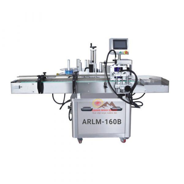 Máy dán nhãn chai tròn tự động (Kẹp xoay) QM-ARLM-160B