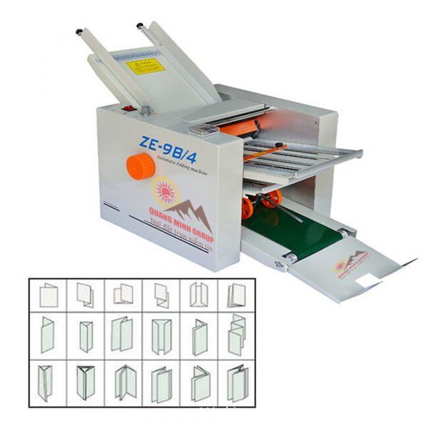 Máy gấp giấy (gấp toa thuốc) tự động QM-ZE-9B/4