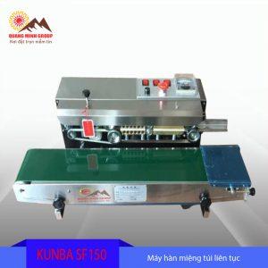 Máy hàn miệng túi liên tục KUNBA-SF150