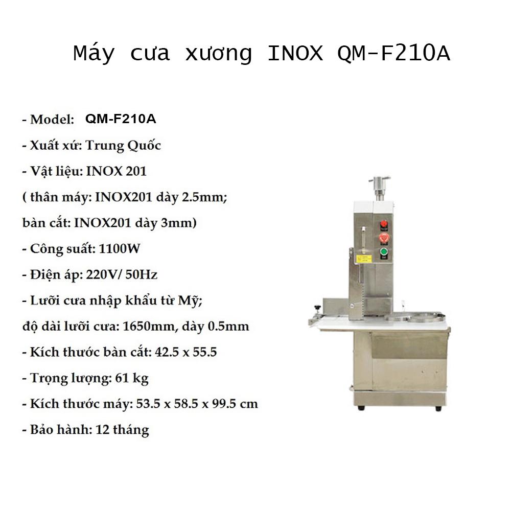 Thông-số-Máy-cưa-xương-INOX-QM-F210A