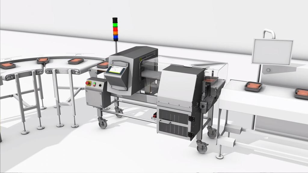 mô phỏng mô hình máy móc công nghiệp