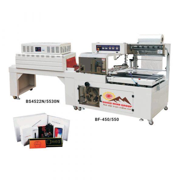 Máy bọc màng và co màng bằng nhiệt tự động BF Series