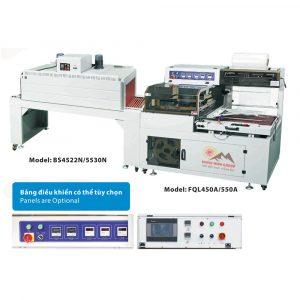 Máy bọc màng và co màng bằng nhiệt tự động FQL Series