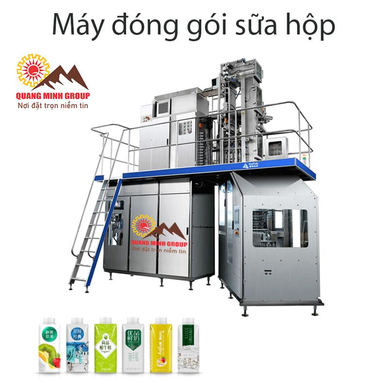 Máy đóng gói sữa hộp - Máy Công Nghiệp Quang Minh